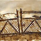 Old Gate by Dianne  Ilka