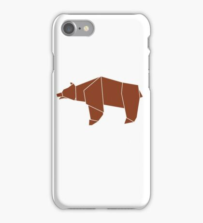 OrigamiBear iPhone Case/Skin
