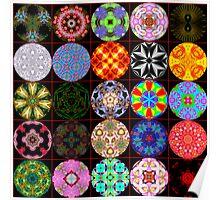 Krazy Kooky Kaleidoscopes Poster