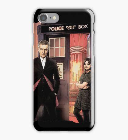 Capaldi Doctor Who iPhone Case/Skin