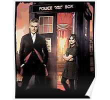 Capaldi Doctor Who Poster