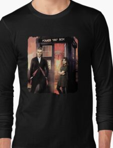 Capaldi Doctor Who Long Sleeve T-Shirt