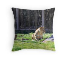 The Stalk... Throw Pillow