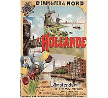 Gustave Fraipont Affiche Nord Hollande Photographic Print