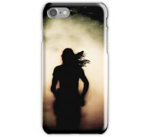 Running Shadow  iPhone Case/Skin