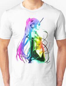 Vocaloid - Hatsune Miku (Raindow) T-Shirt