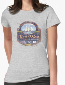 key west sail Womens Fitted T-Shirt
