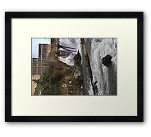 History on the Water Framed Print