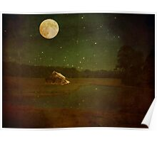 Country Moon Poster