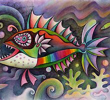 I invented a fish by Karin Zeller