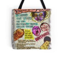 Pregnancy: Village of the Pramed Tote Bag