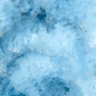 Abstract Blue Painting by Zedart