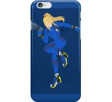 Zero Suit Samus (Dark Blue) - Super Smash Bros. iPhone Case/Skin