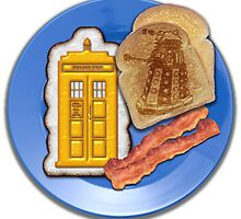 Whovian Breakfast by kayve