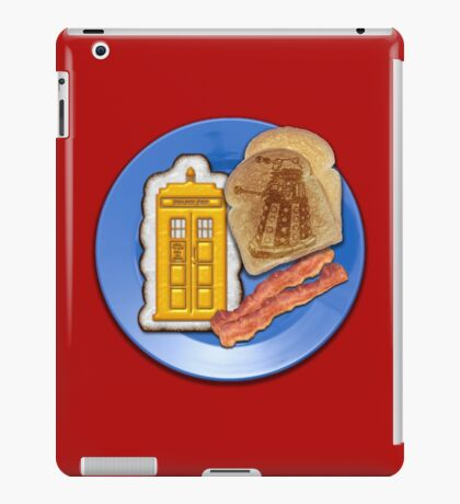 Whovian Breakfast iPad Case/Skin