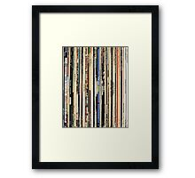 Vinyl Record Collector   Framed Print