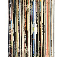 The Beatles, Led Zeppelin, The Rolling Stones - Classic Rock Albums Photographic Print