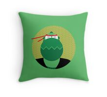 Animal's Gangsta - Alligator Throw Pillow