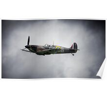 P7350 Spitfire (Mk IIa) Poster
