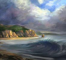 Break in the Storm by twhiteart