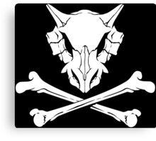 Cubone Skull Canvas Print