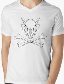 Cubone Skull Mens V-Neck T-Shirt