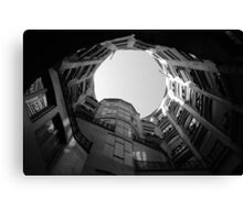 Gaudi Building Canvas Print