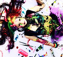 Rainbow Artist Self Reflection - Kalli McCandless by prelandra
