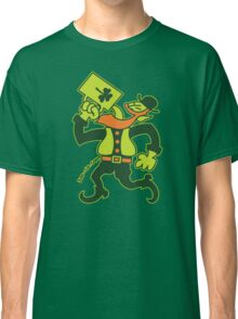 Saint Patrick's Irish Man Drinking Beer Classic T-Shirt