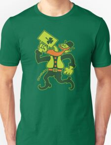 Saint Patrick's Irish Man Drinking Beer Unisex T-Shirt
