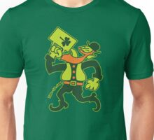 Saint Patrick's Irish Man Drinking Beer Unisex T-Shirt