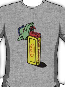 usa california candy tshirt by rogers bros T-Shirt