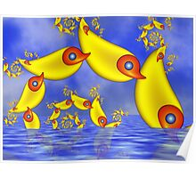 Flying Duckfishes Poster