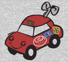 usa california toy car tshirt by rogers bros by usala