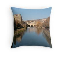 Avon to Pulteney Throw Pillow