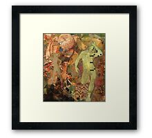 Man woman puzzle  Framed Print