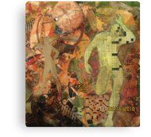 Man woman puzzle  Canvas Print