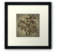 Origa Framed Print