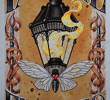 Fan the Flames (Lantern and Cicada) by justteejay