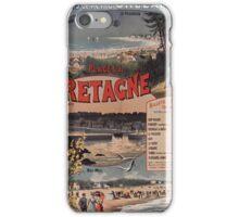 Gustave Fraipont Affiche PO Bretagne 1896 iPhone Case/Skin