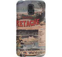 Gustave Fraipont Affiche PO Bretagne 1896 Samsung Galaxy Case/Skin