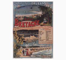 Gustave Fraipont Affiche PO Bretagne 1896 One Piece - Short Sleeve