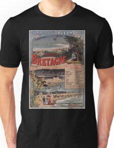Gustave Fraipont Affiche PO Bretagne 1896 Unisex T-Shirt