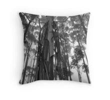 Scary Tree - Summertown Woodlot Throw Pillow