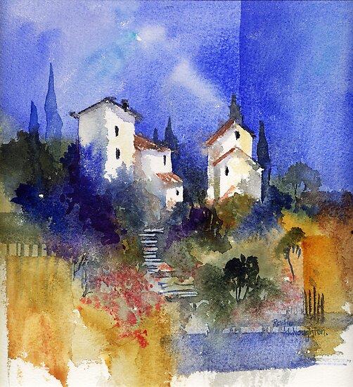Tuscan Memories by artbyrachel