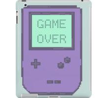 Pixel Gameboy - GAME OVER iPad Case/Skin