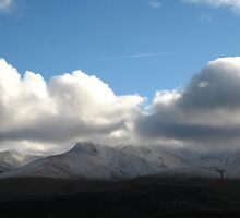 of clouds and mountains by millymuso