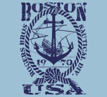 usa boston, ma tshirt by rogers bros by usanewyork