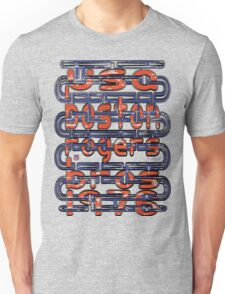 usa boston, ma tshirt by rogers bros Unisex T-Shirt