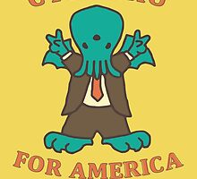 Cthulhu for America 2016 by Devil Olive